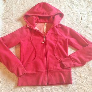 Lululemon Pink Scuba Hoodie Jacket -4